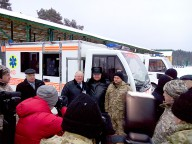 «Electron» ambulances were highly appreciated by the President of Ukraine